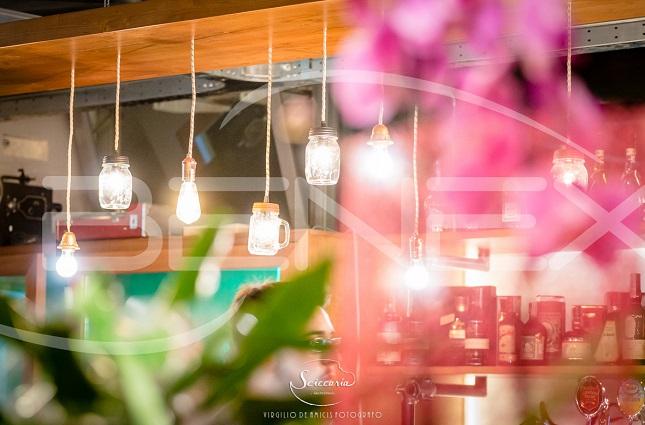 Progetto illuminazione led per nuova apertura locale in stile vintage