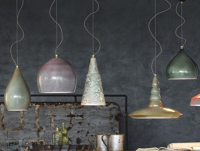 Illuminazione industrial e vintage idee design