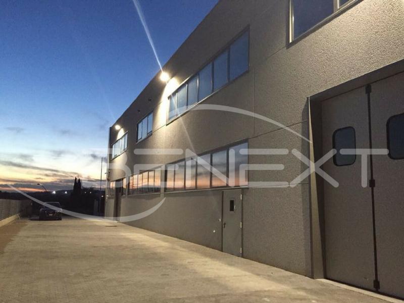 Illuminazione esterna capannoni industriali: illuminazione capannoni