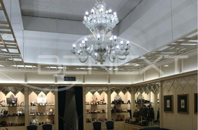Illuminazione a led per negozio lampadine a candela e incassi