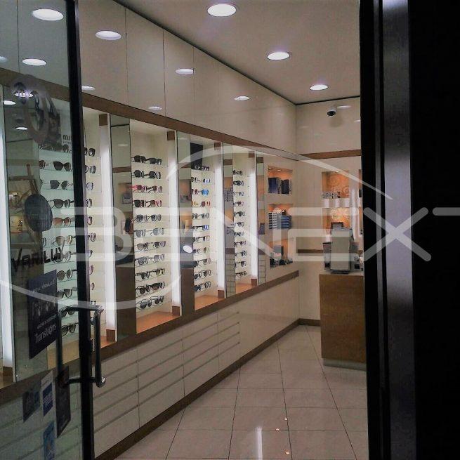 Illuminazione per negozio di ottica: incassi a luce naturale e tubi ...